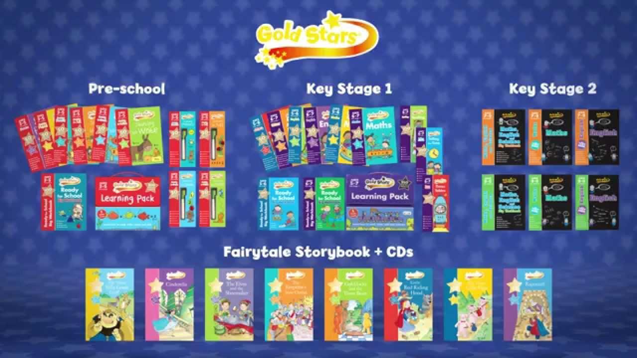 Workbooks key stage 2 workbooks : Gold Stars - Activity Workbooks - YouTube