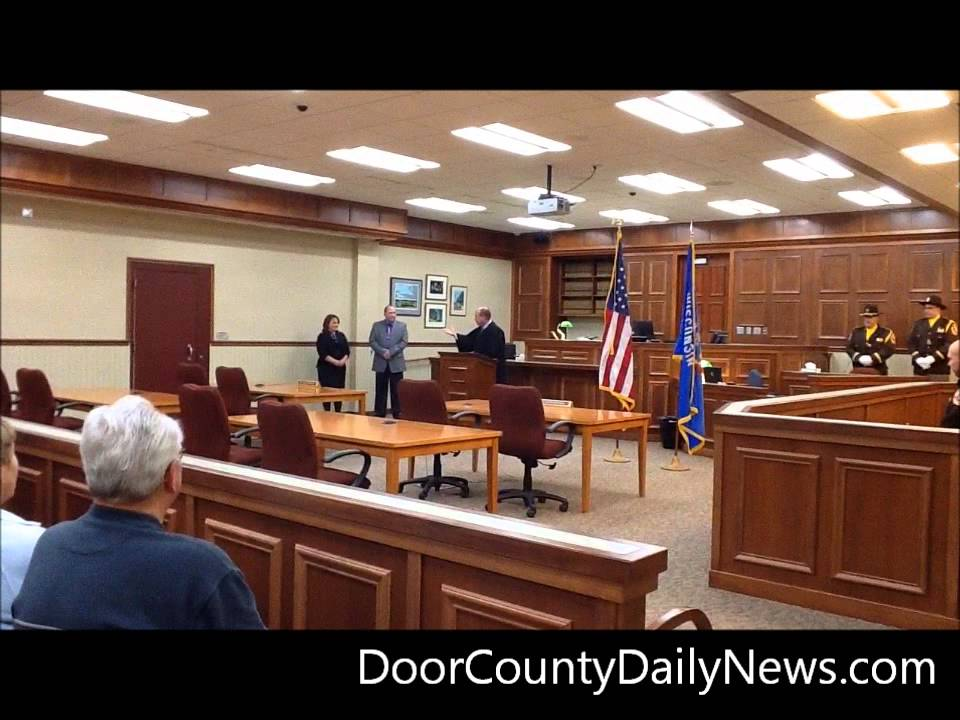 Captivating Inauguration Day: Door County Sheriff And Door County Clerk Of Circuit Court