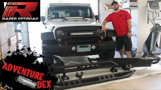 Jeep Wrangler Front and Rear Bumper Unboxing & Review by RazerAuto