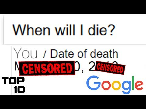 Top 10 Things You Shouldn't Search On Google - Part 5