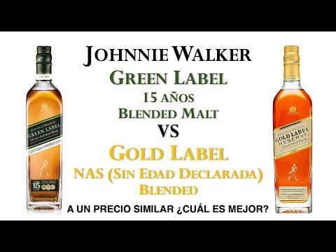 Hablemos de: Johnnie Walker Gold Label VS Johnnie Walker Green Label