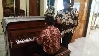 Jefri Setiawan Pianis Bocah dari Kendal, Jateng