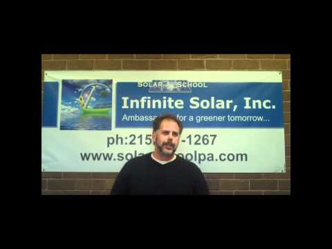 Solar Energy Training Infinite Solar Video Testimonial 6