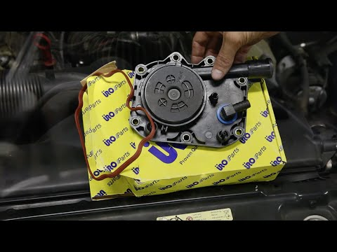 Engine whine/whistle noise from E39 BMW 540i V8: Crankcase Ventilation Valve Fix!