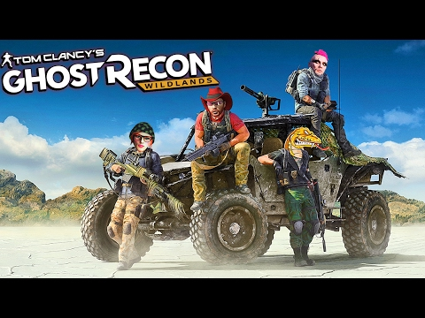 GHOST RECON: WILDLANDS - Closed Beta  | We Are The Butt Ghosts!! Wildlands PC Gameplay (part 1)