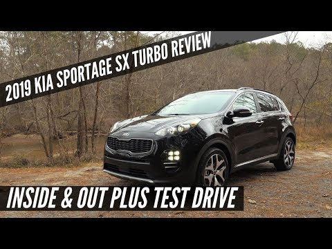 Kia Sportage SX Turbo FULL REVIEW & DRIVE
