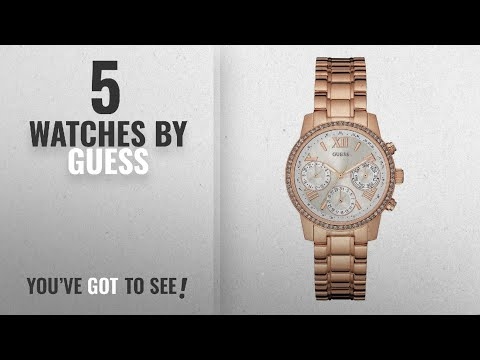 Top 10 Guess Watches [2018]: Guess Analog White Dial Women's Watch - W0623L2