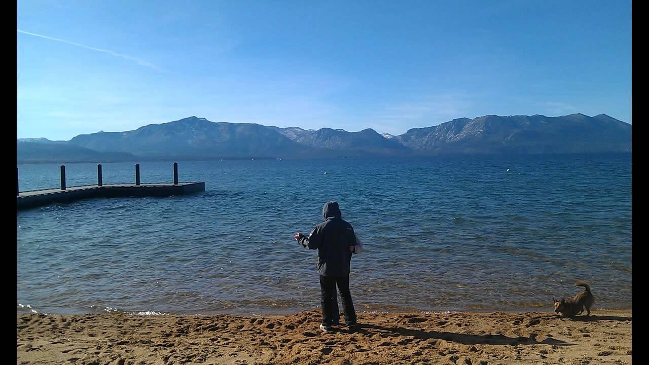 Time Lapse Nevada Beach South Lake Tahoe
