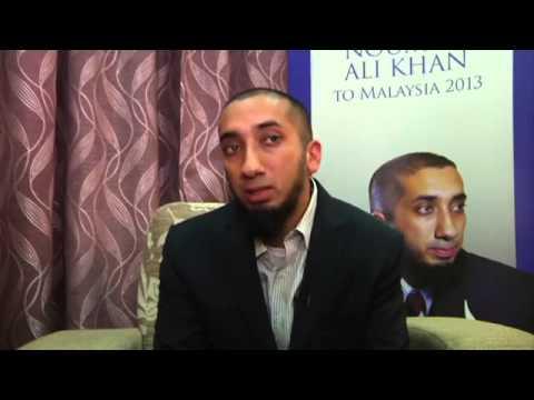 Nouman Ali Khan interview in Malaysia