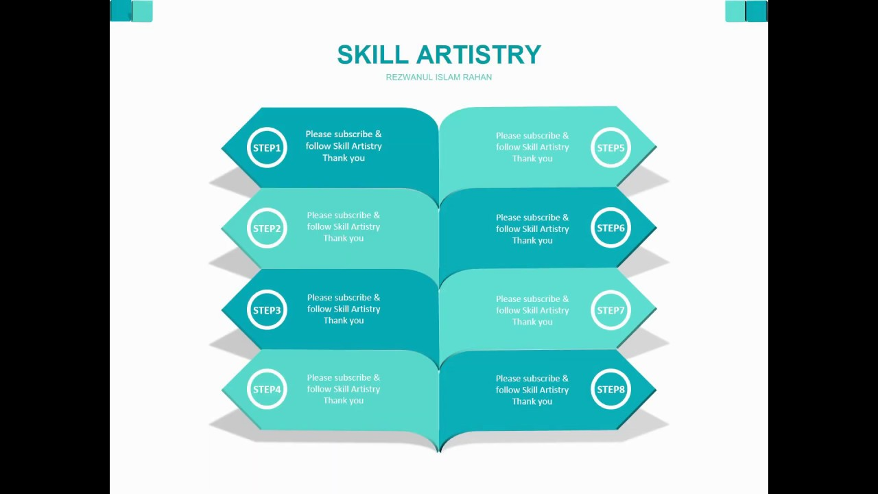 How To Create Custom Shape Infographic In PowerPoint/Graphic Design/Presentation/Free Template
