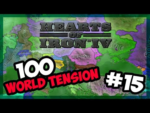 AFRICAN ENTENTE GROWS! | Hearts of Iron IV - 100 World Tension - Modern Day - E.15