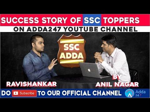 Success Story of SSC Topper Ravishankar Singh (Rank 1 in SSC CGL 2015)