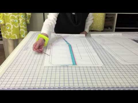 How To: Add width to a garment at the bust area, but without a dart ...