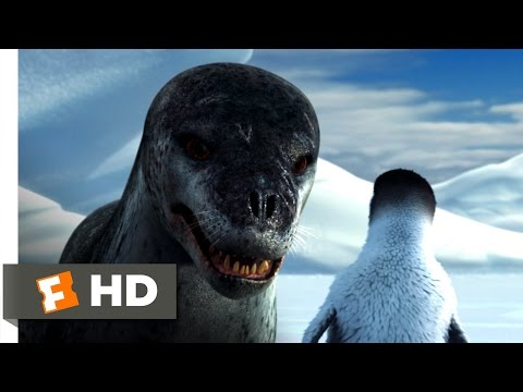 Thumbnail: Happy Feet (3/10) Movie CLIP - Leopard Seal Chase (2006) HD