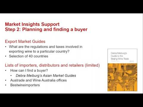 Export Workshop (webinar recording)