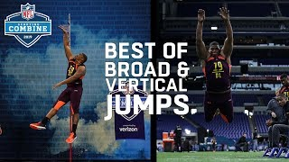Top Broad & Vertical Jumps | 2019 NFL Scouting Combine Highlights
