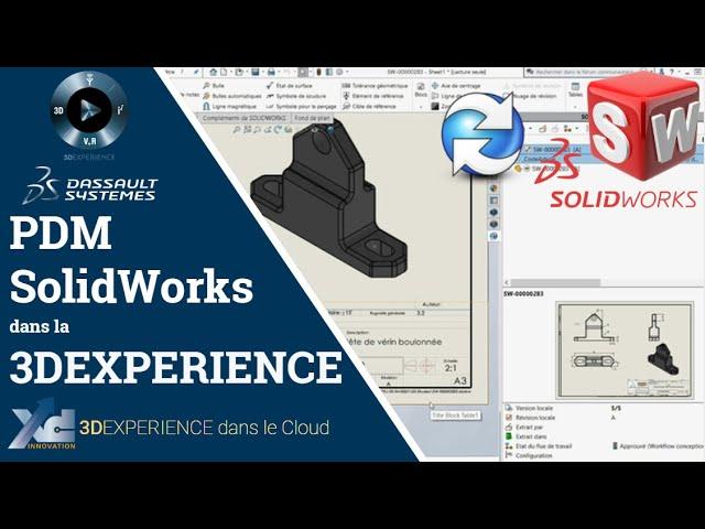 3DEXPERIENCE ® - PDM SolidWorks avec la 3DEXPERIENCE