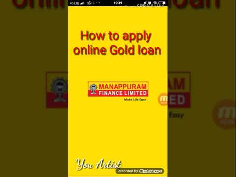 How To Apply Manapuram Finance Online Gold Loan _You Artist