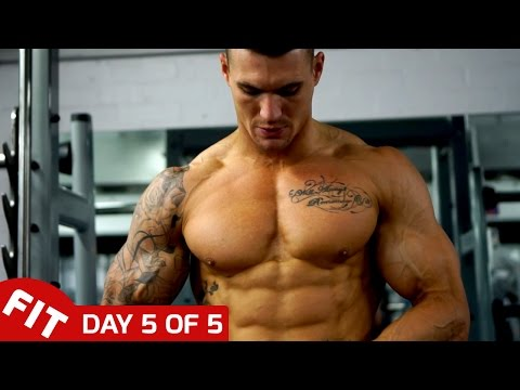 SHOULDERS & TRAPS - ROSS DICKERSON DAY 5 OF 5 DAY SPLIT