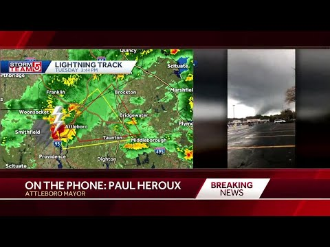 'People should stay indoors' mayor says during tornado warning