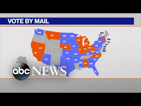 Ballot Watch: States target voting rights - ABC News