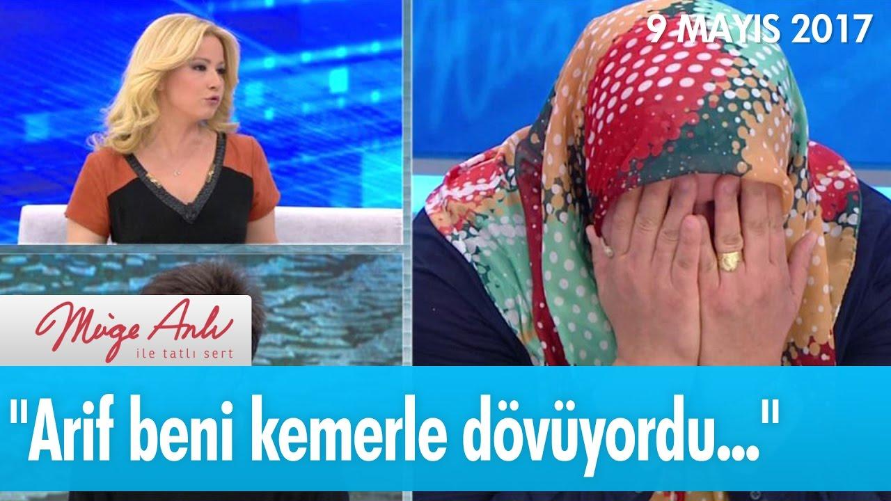 ''Arif beni kemerle dövüyordu...'' - Müge Anlı ile Tatlı Sert 9 Mayıs 2017 - atv