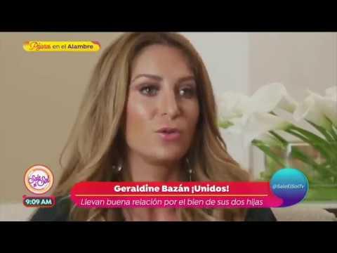 ¡Geraldine Bazán asegura tiene buena relación con Gabriel Soto! | Sale el Sol