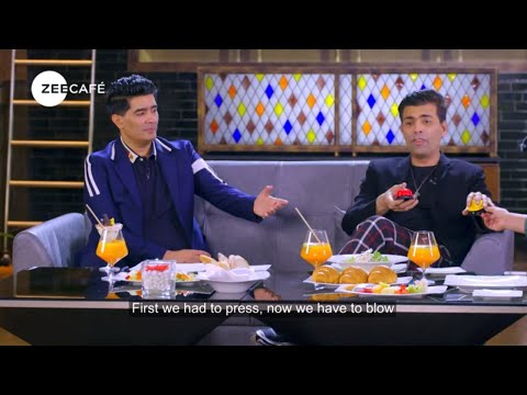 Café Shots | Under 5 With Karan Johar | Not Just Supper Stars