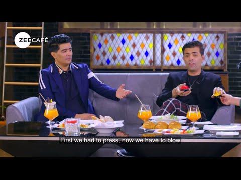 Café Shots | Under 5 with Karan Johar | Not Just Supper Stars