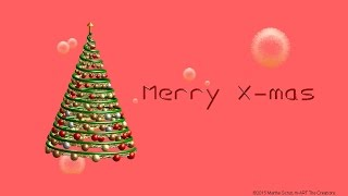 merry christmas happy new year xmas tree and fireworks animated greetings blessings