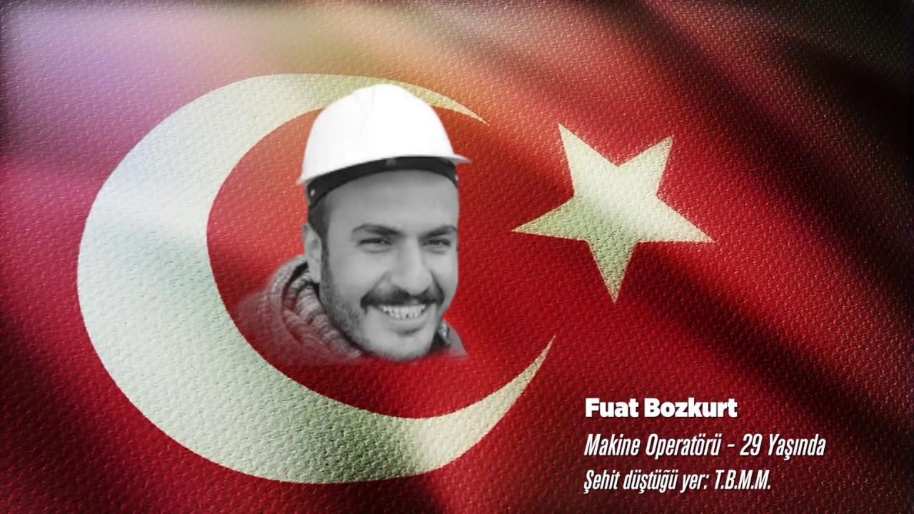 15 Temmuz Şehidi Fuat Bozkurt