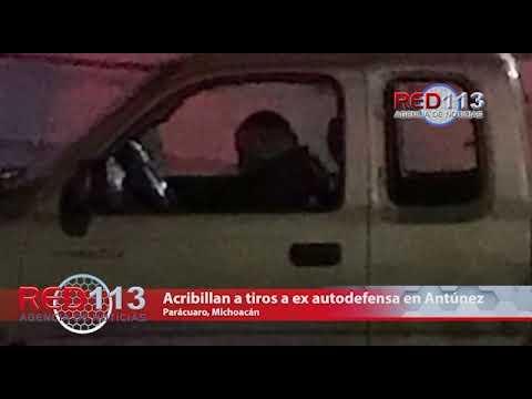 VIDEO Acribillan a tiros a chofer de camioneta en Antúnez