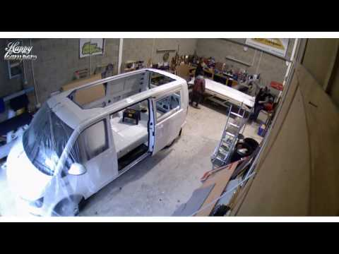 Happy Campers Timelapse - VW T6 Transporter Camper Van Conversion