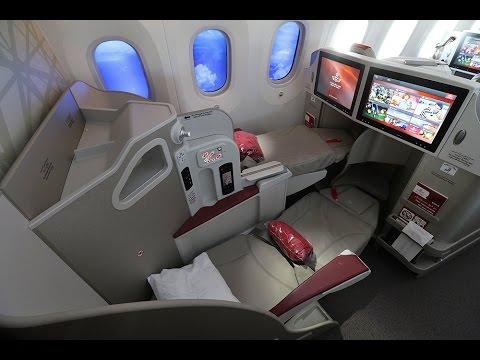 Royal Air Maroc B787 Dreamliner Business Class Casablanca to Doha