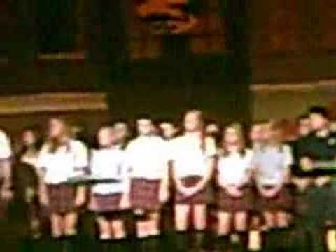 Cardinal O'hara vocal class- Somebody to love