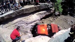 Orange Buggy Payette Draw Waterfall