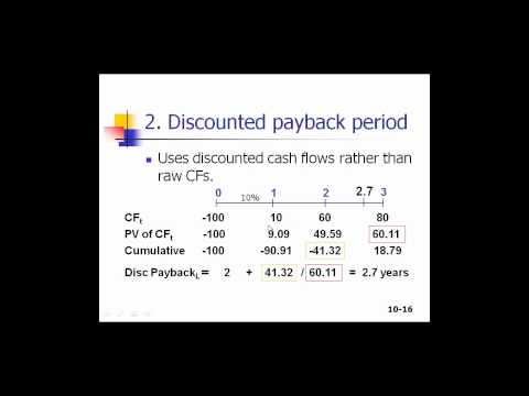 Capital Budgeting Part 1