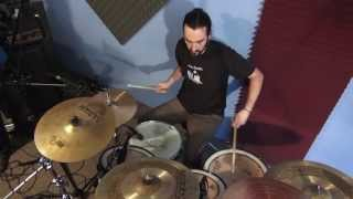 AD - drum kit improvisation 1