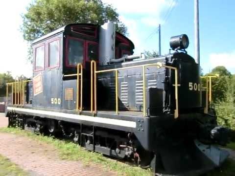 Gasoline-Electric Locomotive, service on 1000 Islands Railway 1931 Gananoque Ontario Canada