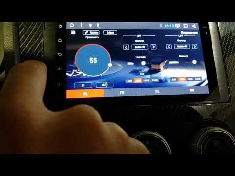 Установка автомагнитолы Redpower 31062 в Subaru Impreza
