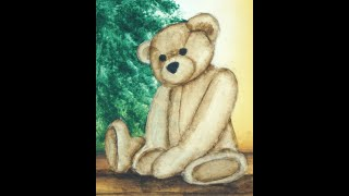 Nsv Toys In The Attic Painting The Teddy Bear