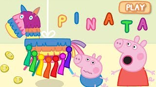 Peppa Pig App | Let's Play PINATA Surprise Game! | Game for Kids thumbnail