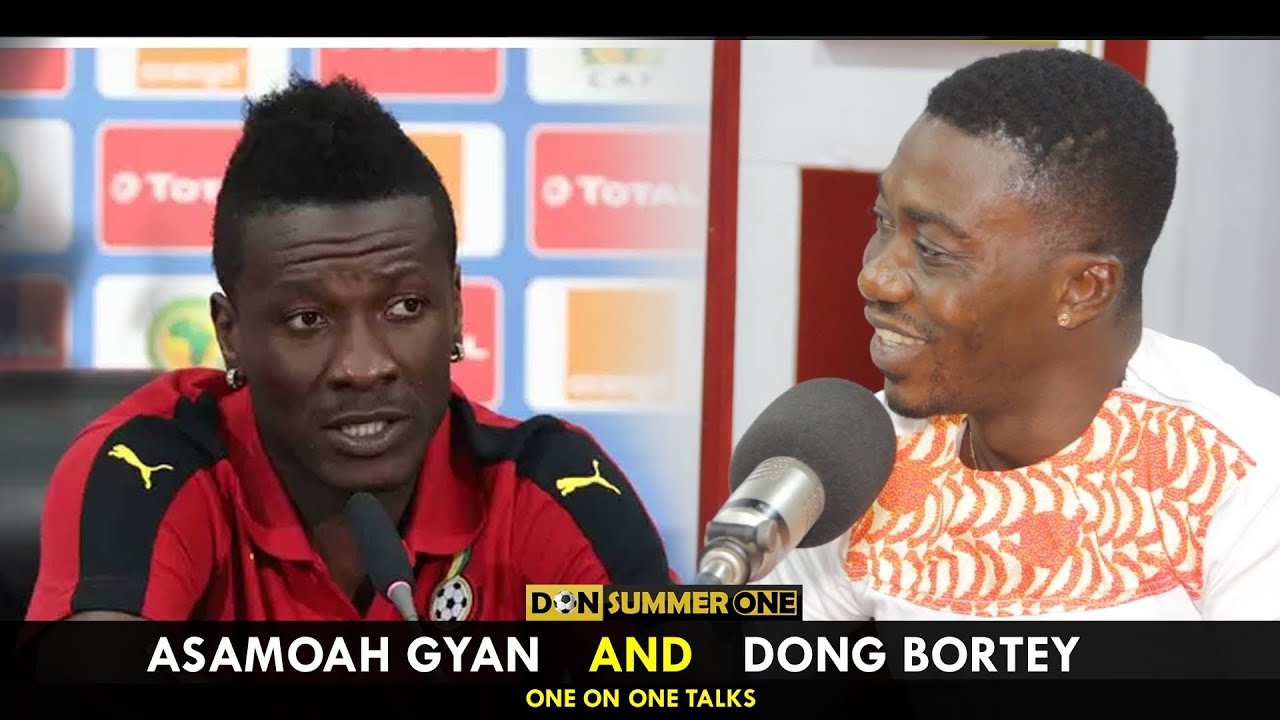 Download Asamoah Gyan-I'll never forget Don Bortey he's a great guy(audiovisual)