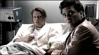 Tony and Johnny lie to Livia at the hospital.