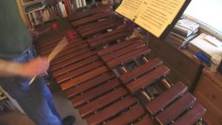 George Hamilton Green's Ragtime Robin for xylophone solo