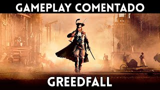 GAMEPLAY ESPAÑOL GREEDFALL (PS4, Xbox One, PC) Un ACTION RPG en una EUROPA de FANTASÍA