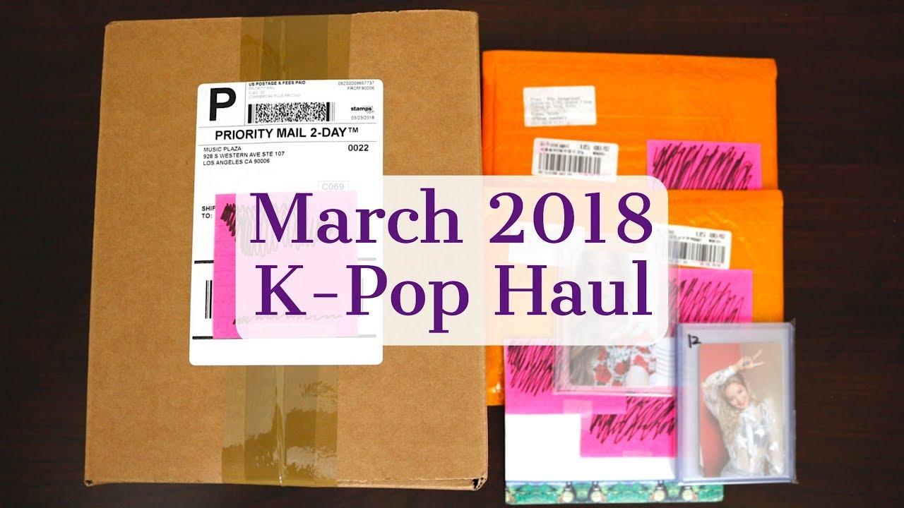 March 2018 K-Pop Haul - Red Velvet Selfie Book, Taeyeon Concert DVD,  Mamamoo Album, & Photocards! by Gloria