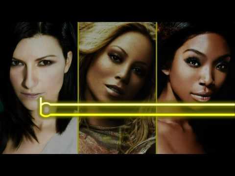 (HD) Laura Pausini Vs Mariah Carey Vs Brandy - Vocal Battle: G2 - F#5