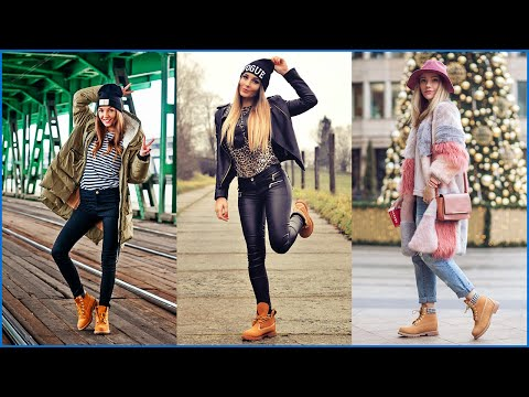 How to Wear Casual Outfits with Timberland Boots