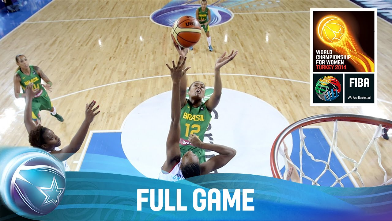 France v Brazil - Full Game - 1/4-Final Qualifiers